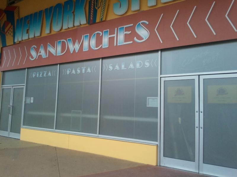 [Disney Village] Nouvelle carte au New York Style Sandwiches 2011-114