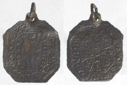 recopilación de medallas de San Benito Medail18