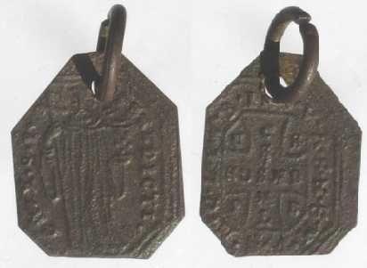 recopilación de medallas de San Benito Medail19
