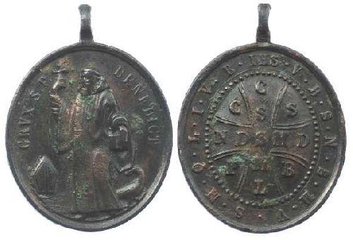 recopilación de medallas de San Benito Medail22