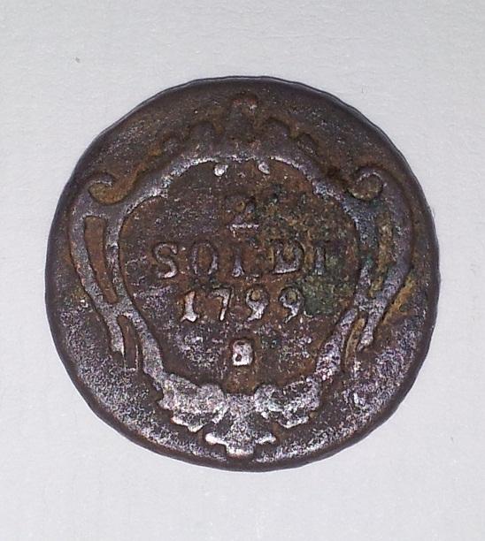 2 Soldi. Italia, Estado de Gorizia. 1799. Salzburg  20121211
