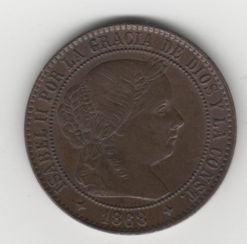 Las iniciales A.C, de las monedas de Isabel II, pertenecén al Sr. Atanasio Carrasco y Castell 231_1_10