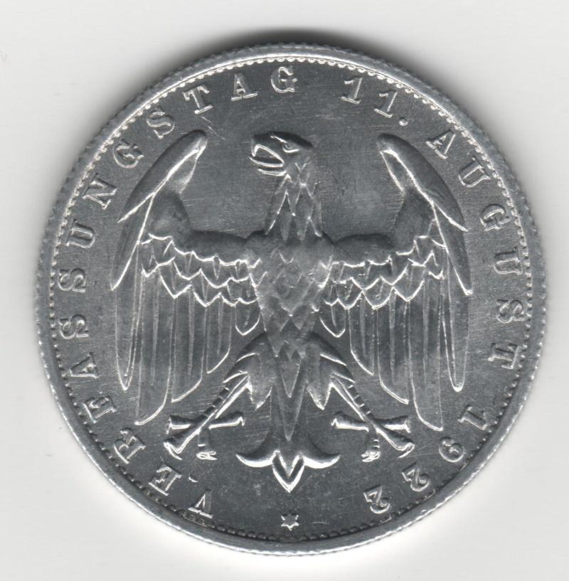 3 Mark. Alemania. 1922. Berlín 300110