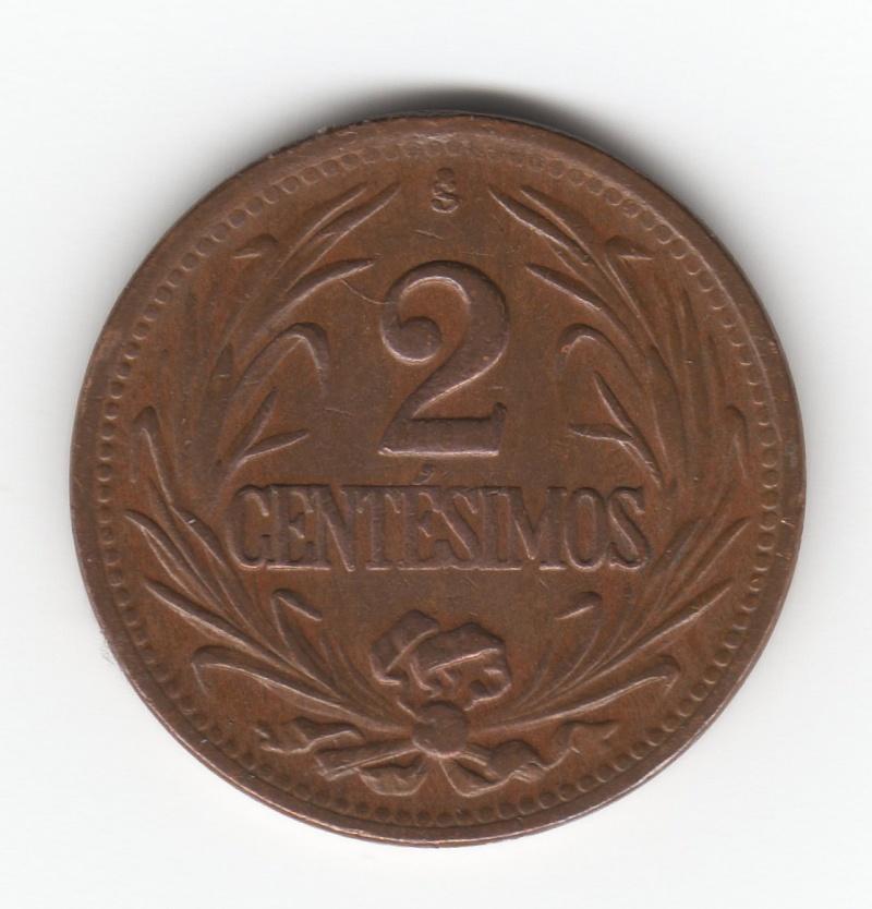 2 Centésimos. República Oriental del Uruguay. 1947. Santiago de Chile Img20310