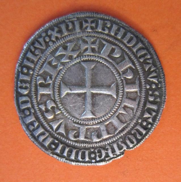 "Gros Tournois de Felipe IV ""El Hermoso"": Turonus Civis (1285-1314) Img26510"