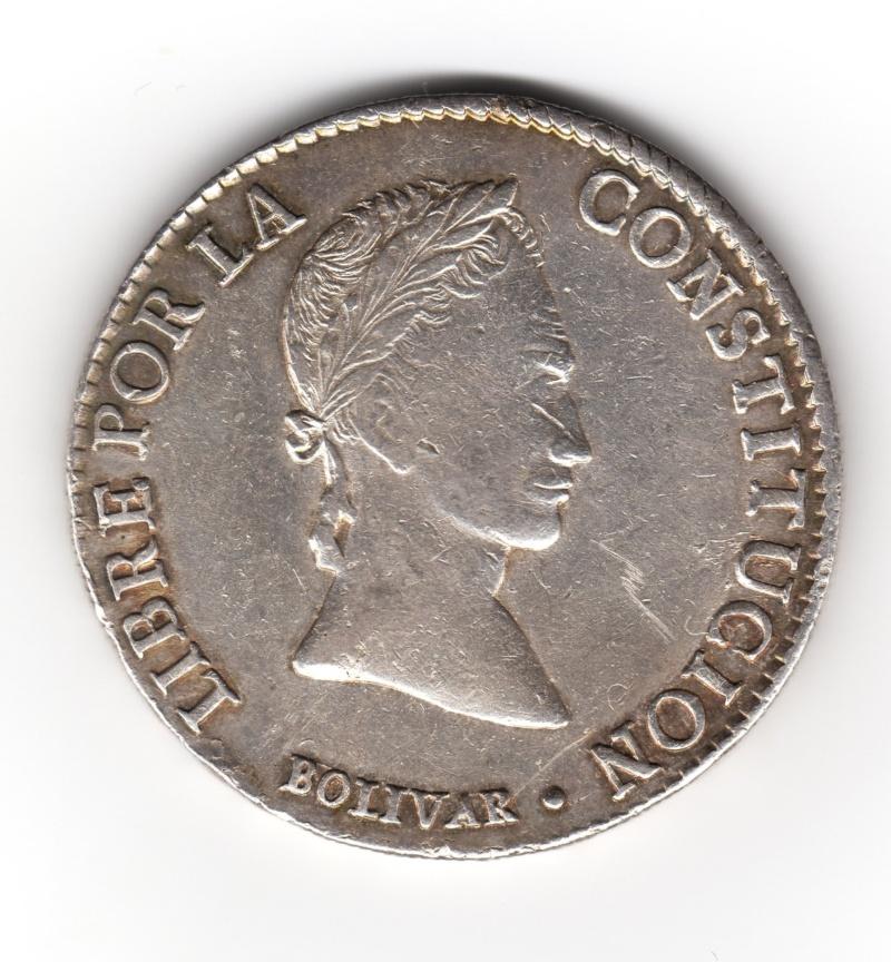 8 Soles. Bolivia. 1841. Potosi Img88410