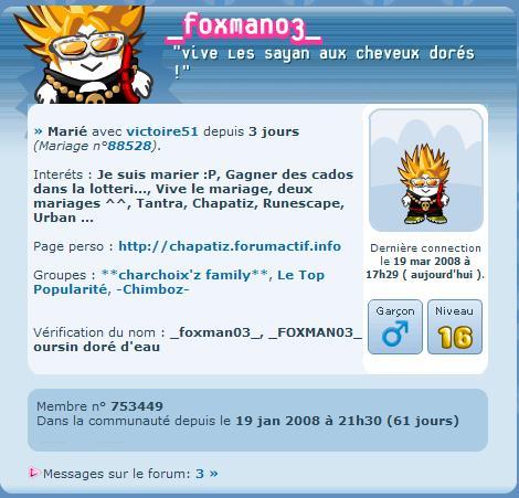 Foxman03 s'est marié aujourdhui ! Perso211