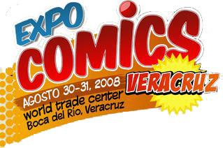 Expo comic Veracruz 20 y 21 de Septiembre 2008 Logo_e10