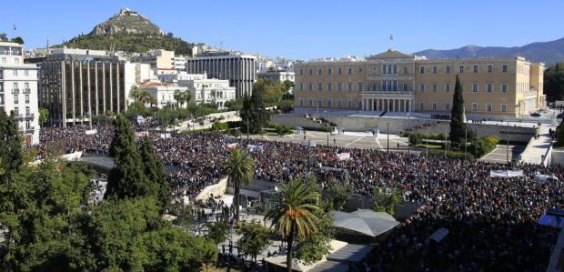 Importantes disturbios en Grecia Nueva_11