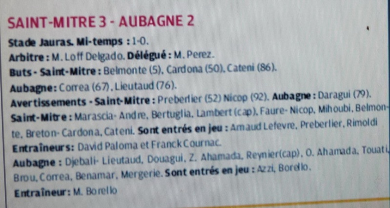 FC Saint-Mitre  LES REMPARTS :: PHB  Copie353