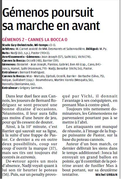 GEMENOS ....A TOMBEAUX OUVERTS// DHR - Page 18 Copie540