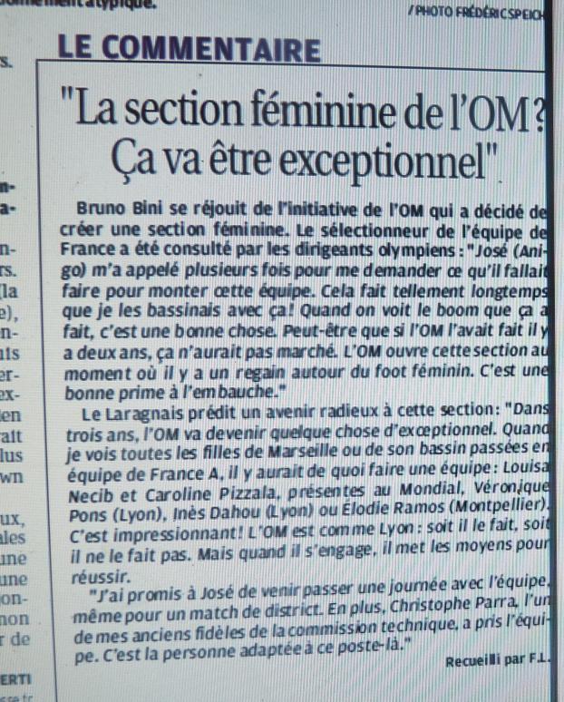 OM // ALLEZ LES FEMMES / D2 P1200722