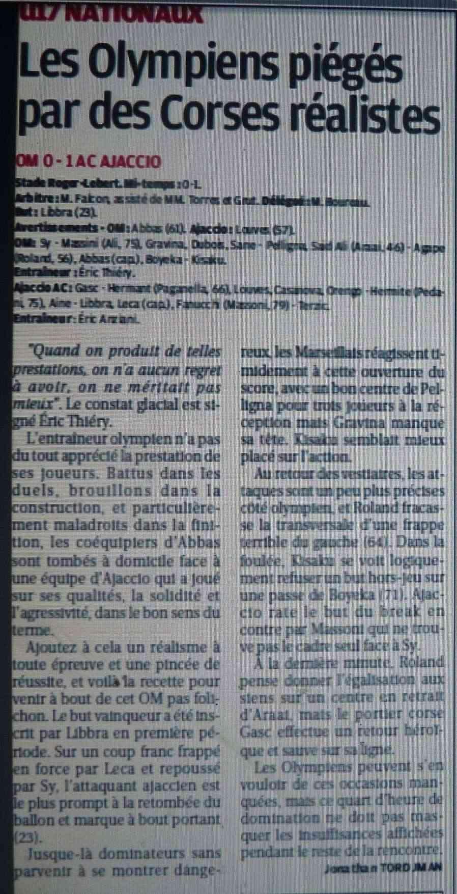 AC AJACCIO B et JEUNES // CFA2 GROUPE SUD EST G P1220033