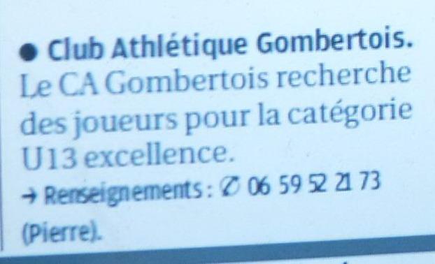 ETOILE SPORTIVE GOMBERTOISE /CHATEAU et CAG club athletique gombertois /PHA PROVENCE  - Page 2 P1220419