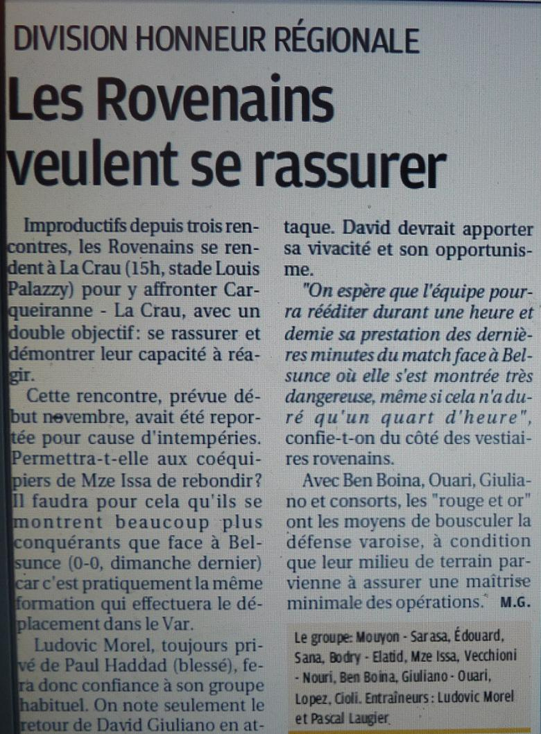 OLYMPIQUE ROVENAIS// DHR - Page 3 P1240643