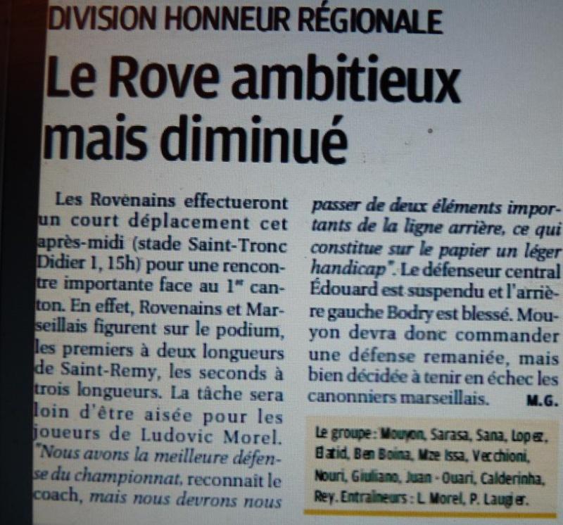 OLYMPIQUE ROVENAIS// DHR - Page 3 P1250510
