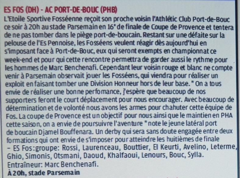 ATHLETIC CLUB  PORT DE BOUC ET SC PORT DE BOUC  / PHA PROVENCE  - Page 3 P1260464