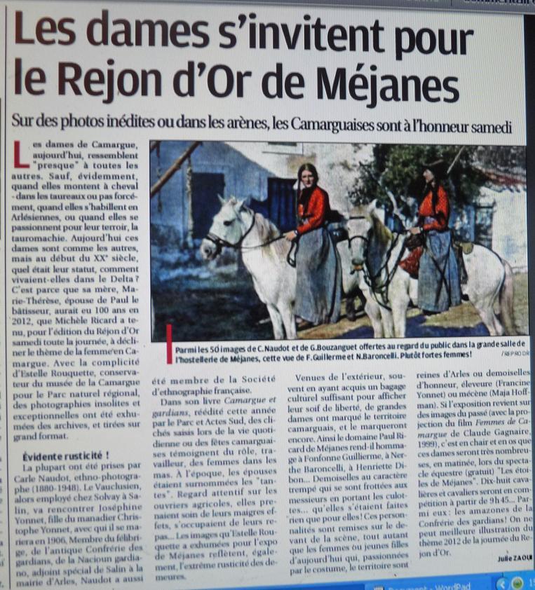 LES PLUS JOLIES FEMMES AU MONDE SONT EN MEDITERRANEE - Page 12 P1290920