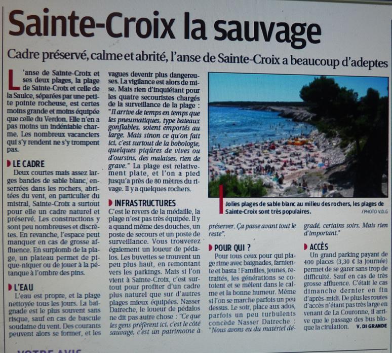 CA CROIX SAINTE  Photo703