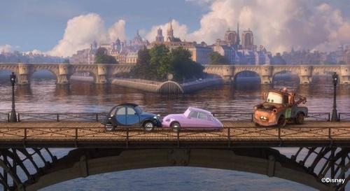 La voiture du film Cars 2 que vous aimeriez voir en miniature Mattel ! Image410