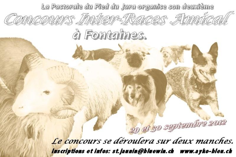 annonce du second concours amical de la Pastorale Affich10
