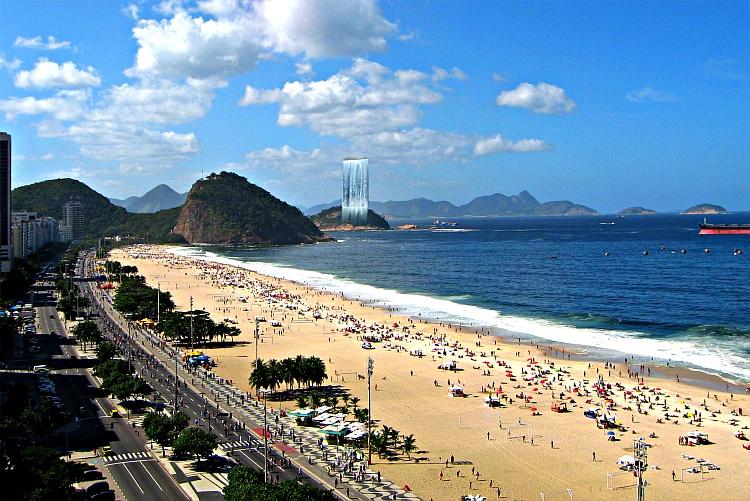 """El """"Símbolo"""" de los Juegos Olimpicos.- RIO DE JANEIRO 118"""