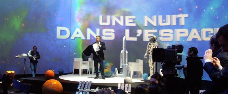 """Emission """"Une nuit dans l'espace"""" le 27 mars sur france 2  Druk10"""
