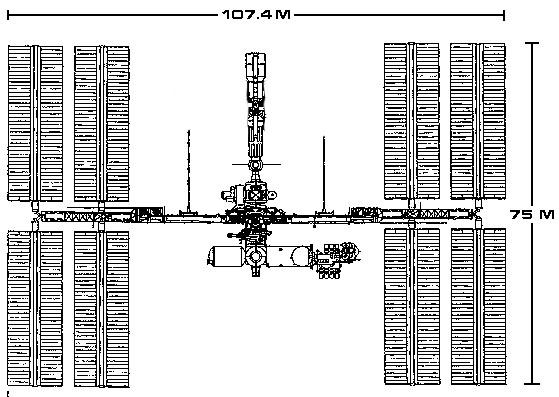 Vue en plan - récent - d'ISS Help10