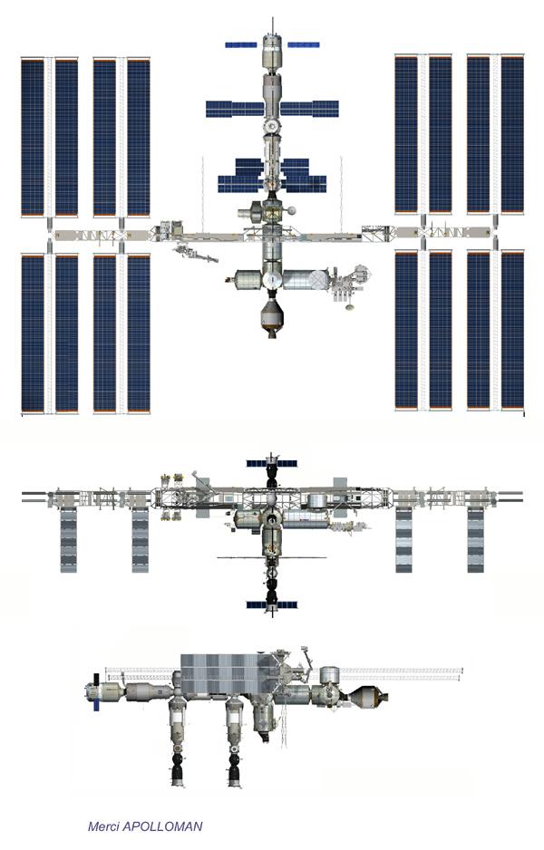 Vue en plan - récent - d'ISS Issall10