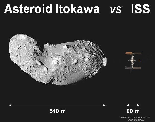 Vue en plan - récent - d'ISS Itokaw10