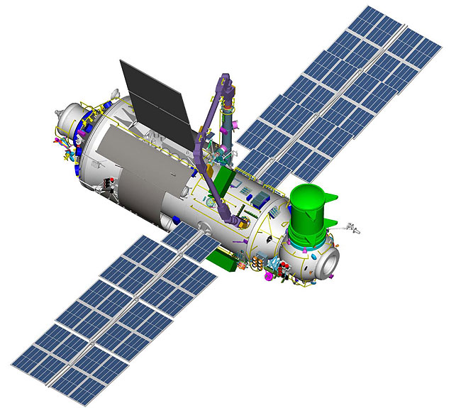 Russie et ISS : Les modules à venir Mlm10