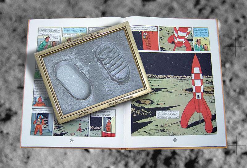 Objectif Lune & On a marché sur la Lune - Page 2 Tintin10