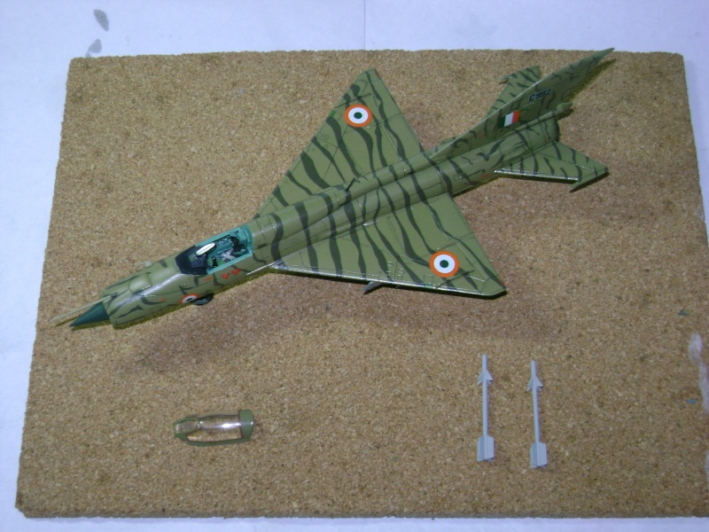 MiG-21 PF(later) INDIAN TIGER FUJIMI 1/72 Nuevas10