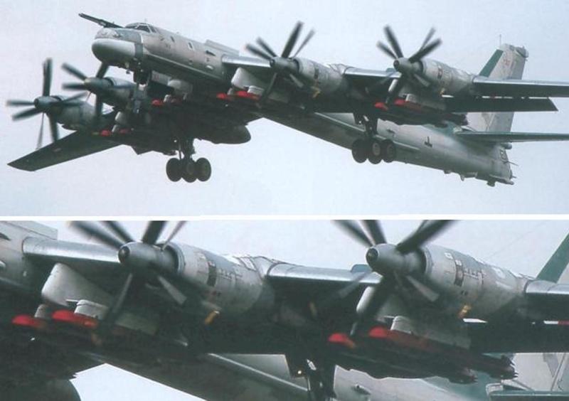 "Tupolev Tu-142 ""Bear"" (Para Fiorenzo) Tu-95m12"