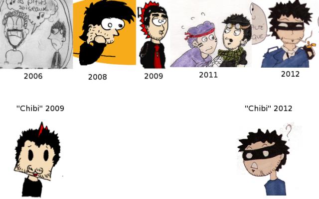 Ancien VS nouveaux dessins Revolu10