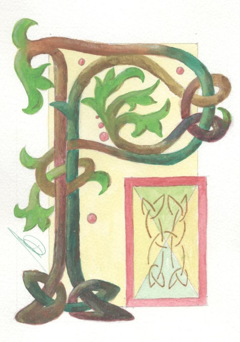 J'aime les entrelacs et autres dessins celtiques - Page 15 Lettre11