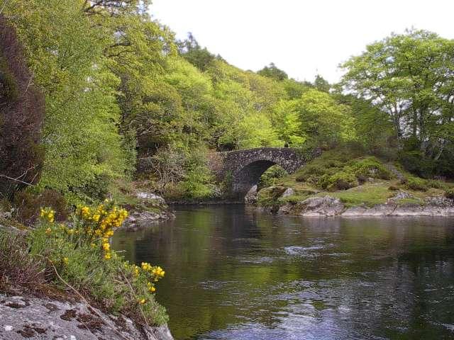 Vieux ponts de pierre en Ecosse Oldbri10