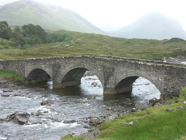 Vieux ponts de pierre en Ecosse Pont-110