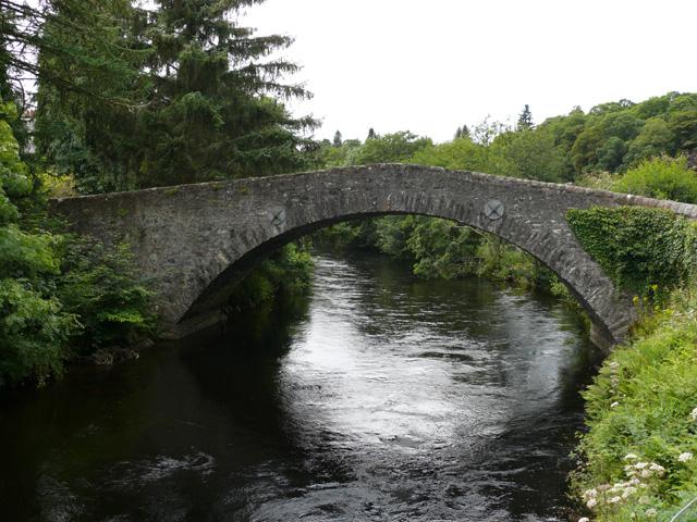 Vieux ponts de pierre en Ecosse Pont-610