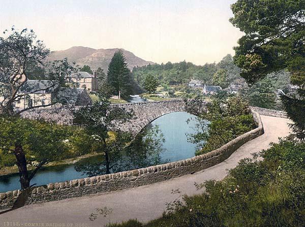 Vieux ponts de pierre en Ecosse Scotla10
