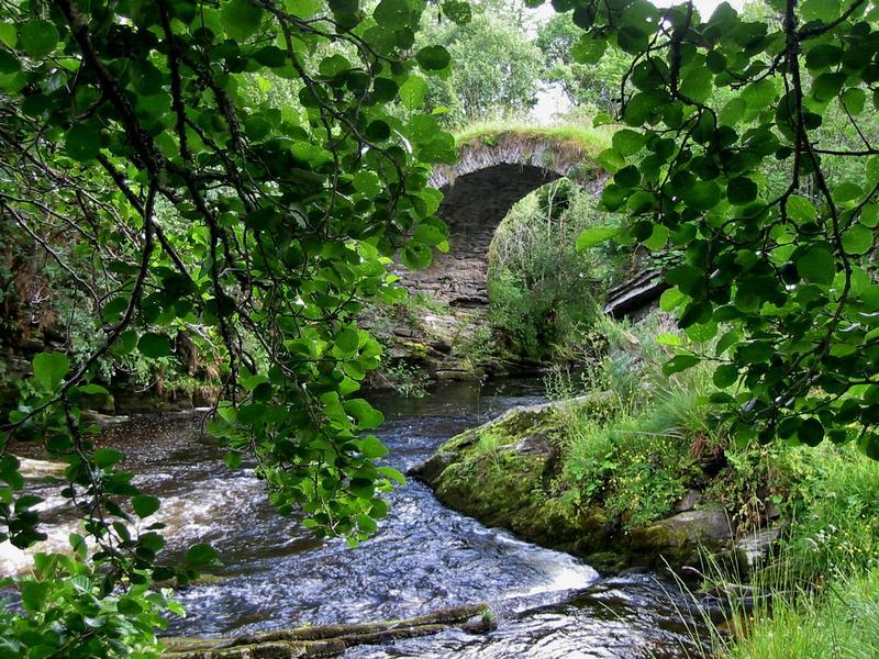 Vieux ponts de pierre en Ecosse Scotla11