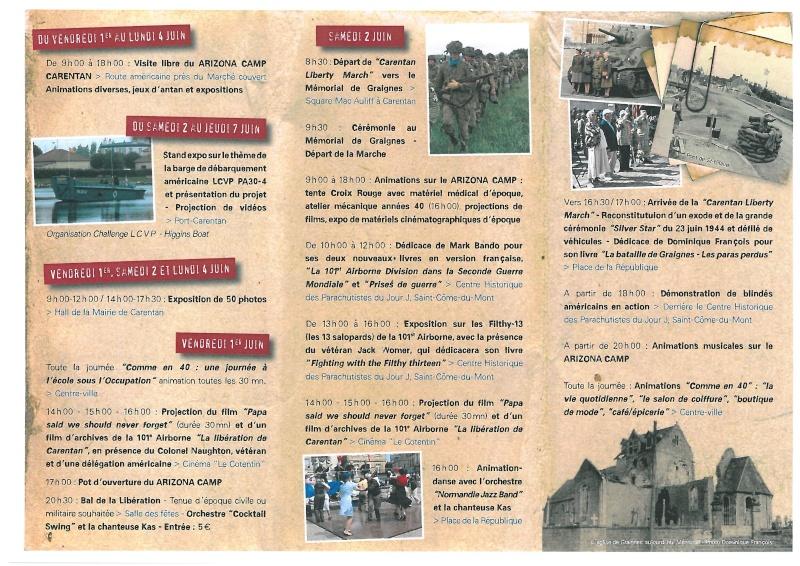programme des festivitées sur Carentan S28c-114