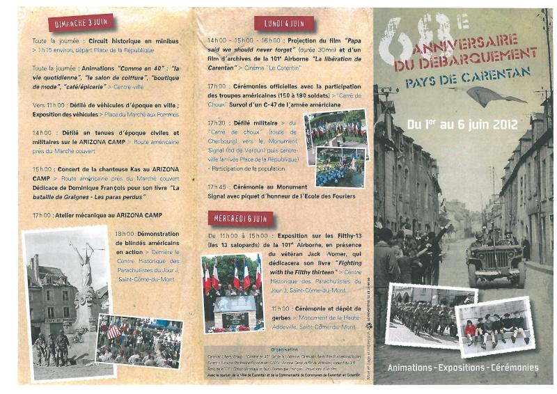 programme des festivitées sur Carentan S28c-115