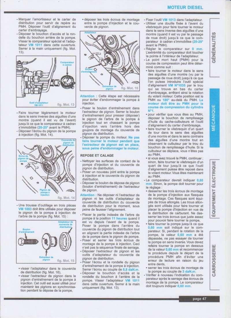Calage de pompe à injection sur S3 2,5TD  - Page 3 Callag11