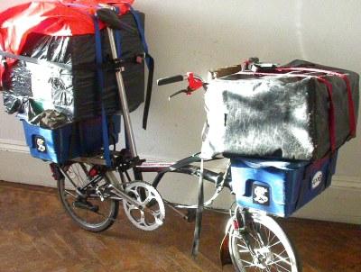 Porte-bagage avant Custfo10