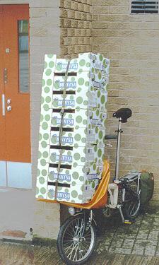 Porte-bagage avant Luggag10