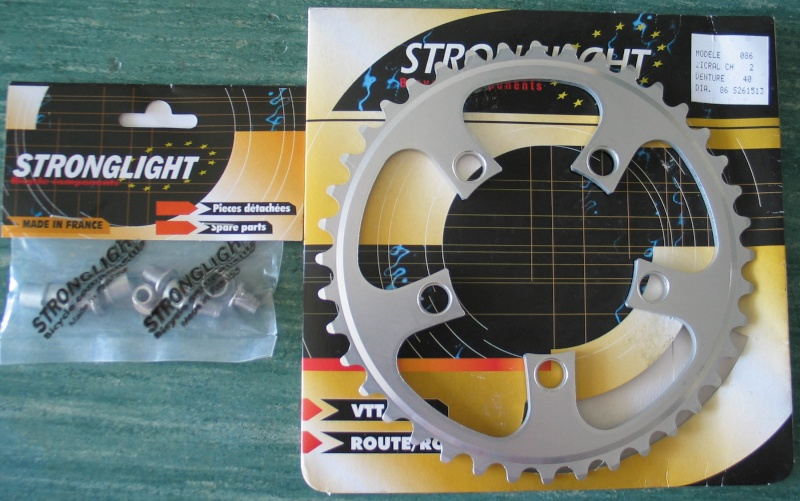 plateau 40 dents Stronglight Strong10