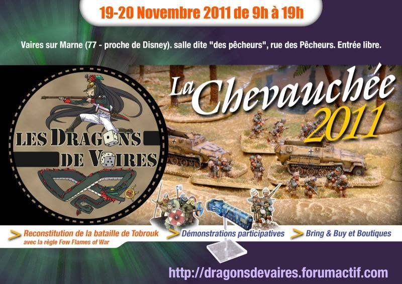 Chevauchée des Dragons de Vaires - 19/20 Novembre 2011 Affich11
