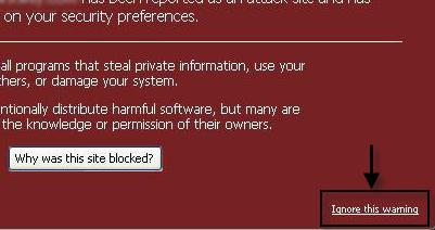 (تحذير: إن زيارة هذا الموقع قد تلحق الضرر بالكمبيوتر!) - سبب ظهور التنبيه و كيفية معالجة المشكل. 29-05-17