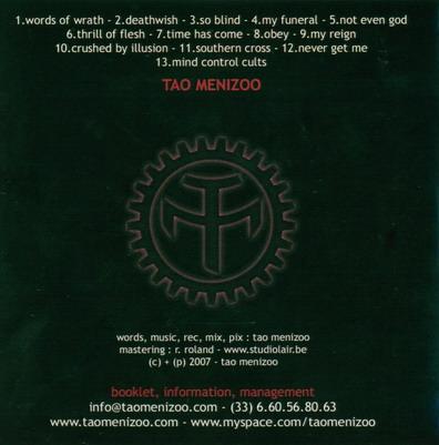 TAO MENIZOO So Blind (2008) Taodos10